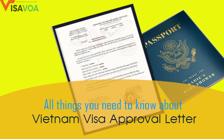Vietnam visa on arrival: What is the '' Vietnam visa approval letter''?