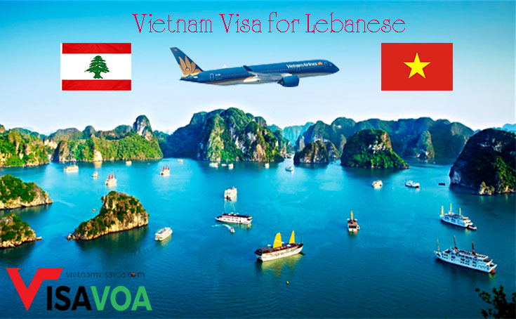 Tourist Vietnam visa for Lebanese