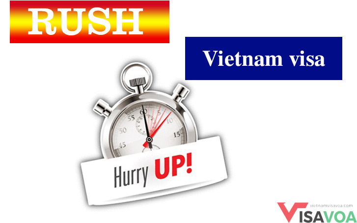 Detailed guidance on getting Rush Vietnam visa