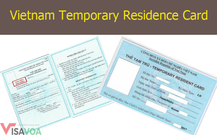 How to get a Temporary Resident Card  in Vietnam