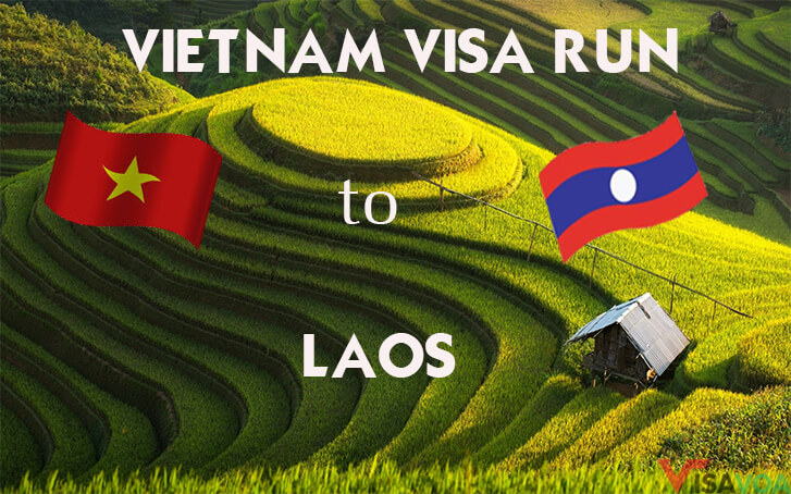 How to get Vietnam visa run to Laos