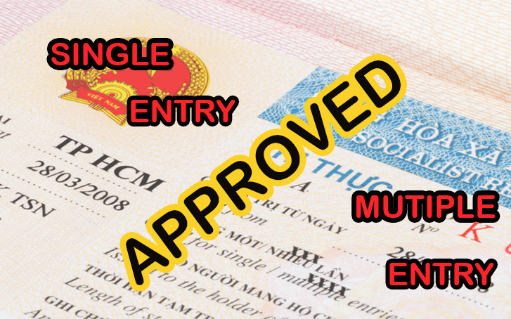 Single-entry and multiple-entry Vietnam visa