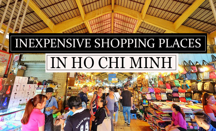 Inexpensive shopping places in Ho Chi Minh City