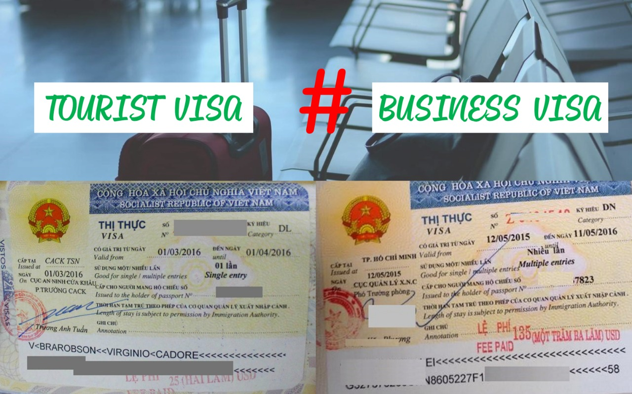 Differences between Vietnam tourist and business visa