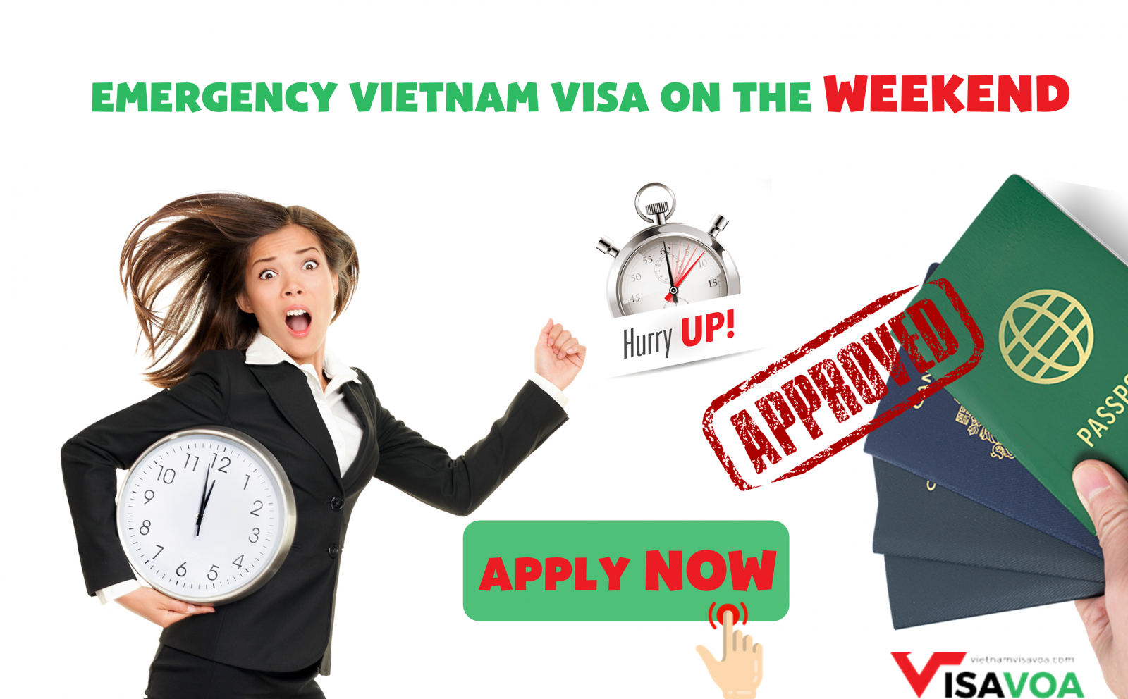 Emergency Vietnam visa at the Weekends and Holidays