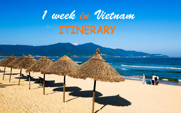 Ideal itinerary in Vietnam for a week