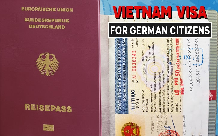 Vietnam Visa Guidance for German Citizens