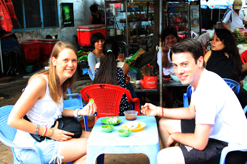Free walking streetfood tour