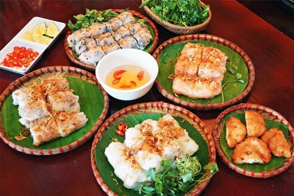 Cost for food in Vietnam in 1 week